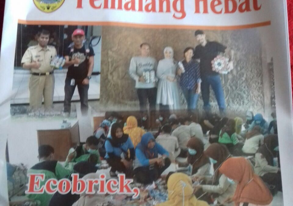 Forget Time magazine… We're on the cover of Pemalang Hebat newspaper!
